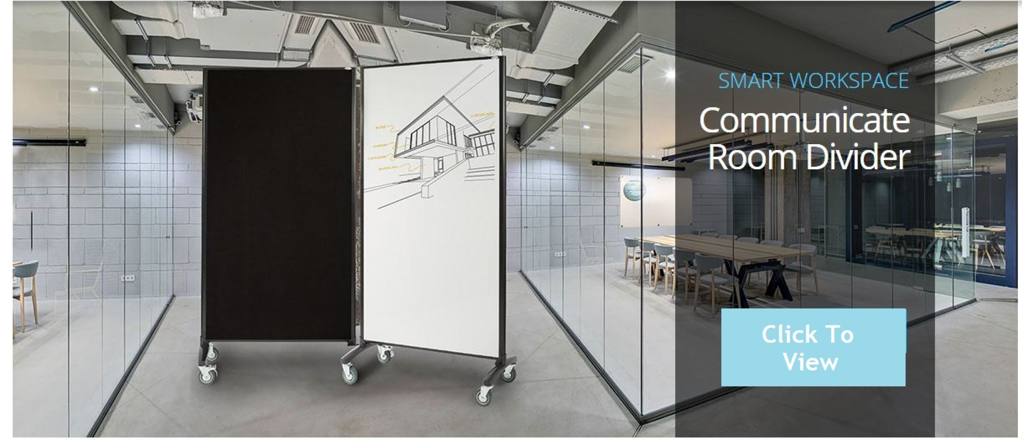 Communicate Room Dividers Banner (b)