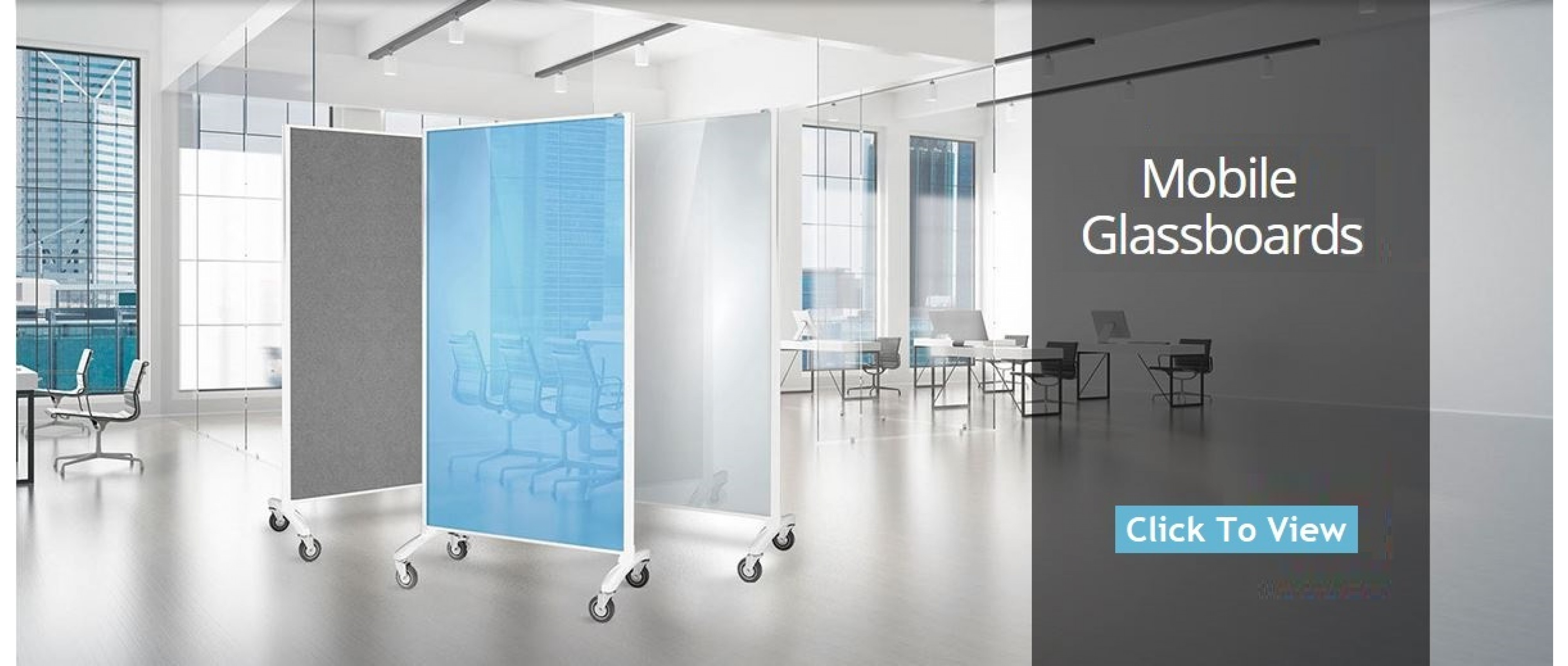 Glassboard Room Dividers