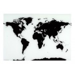 Naga World Map Glassboard