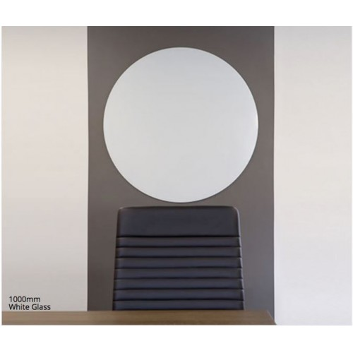 Round Magnetic Glassboards