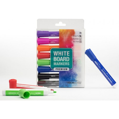 Premium Whiteboard Markers - 8 Pack