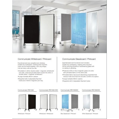 Whiteboard   Pinboard Room Divider Mobile