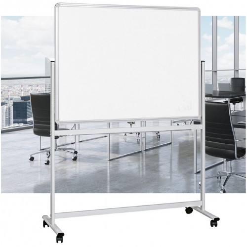 Mobile Whiteboard Standard Double Sided Magnetic