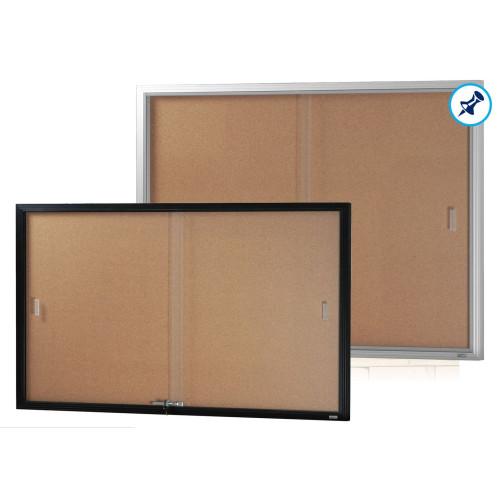 Be Noticed - Sliding Door Notice Cases