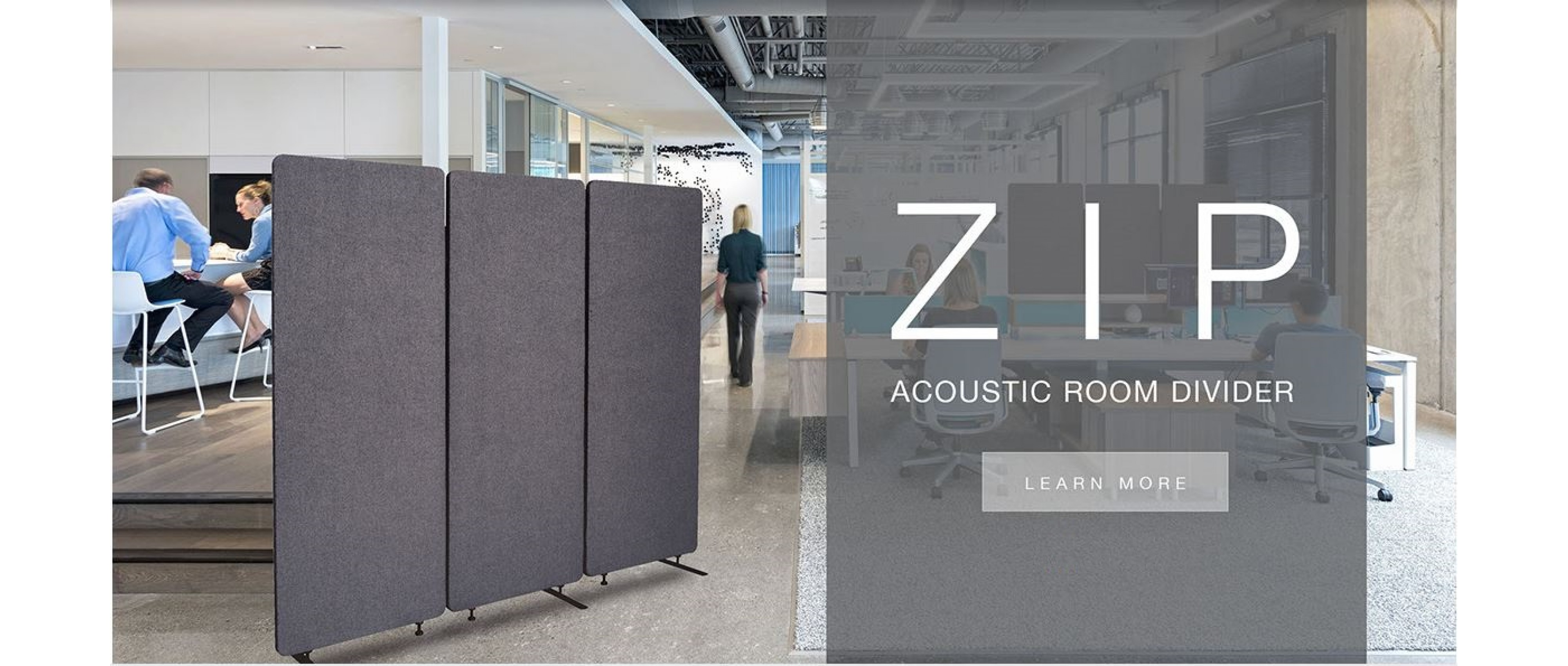 ZIP Acoustic Room Divider