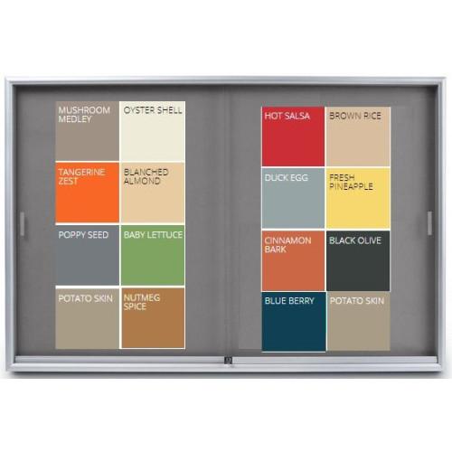 Sliding Glass Door Display Case - Krommenie
