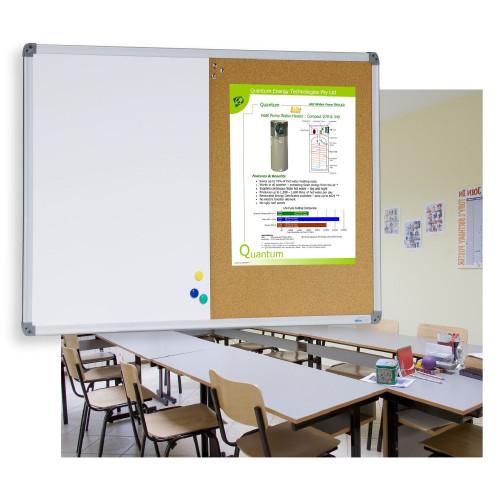 Combi Whiteboard and Corkboard
